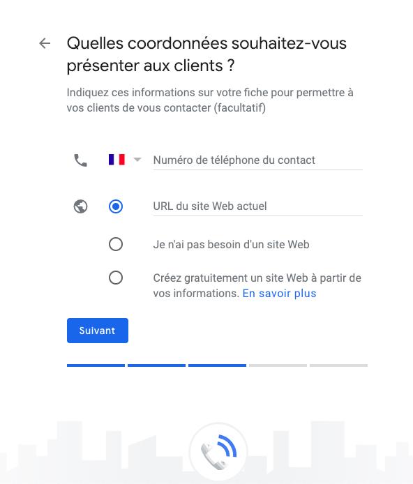 google my business étape 16