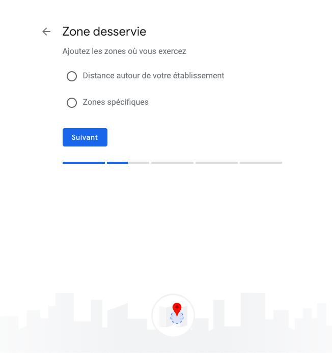 google my business étape 4