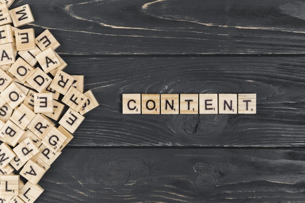 contenu web rédactionnel, logique de contenu stratégique